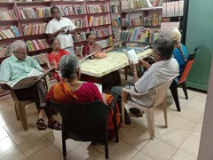 Senior citizens in coimbatore